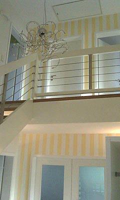 Umgestaltung, Eingangsbereich